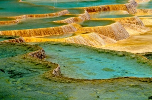 Calcific Ponds from Huanglong